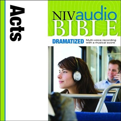NIV Audio Bible, Dramatized: Acts - Special edition Audiobook  [Download] -     By: Zondervan