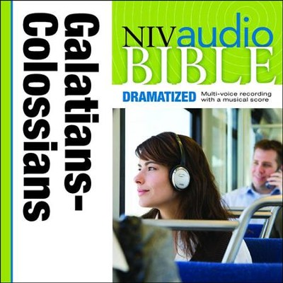 NIV Audio Bible, Dramatized: Galatians, Ephesians, Philippians, and Colossians - Special edition Audiobook  [Download] -     By: Zondervan