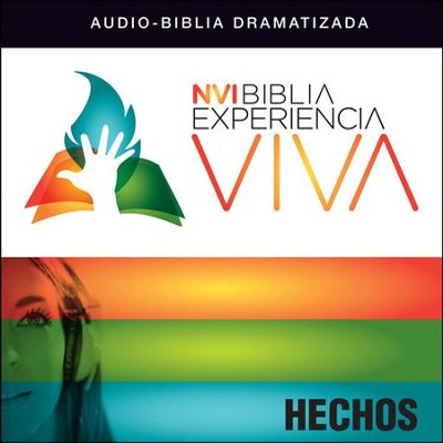 NVI Experiencia Viva: Hechos Audiobook  [Download] -     By: Zondervan
