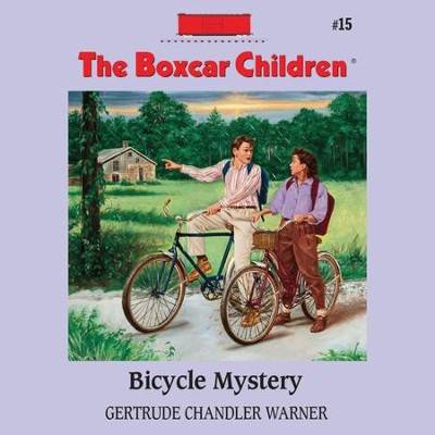 Bicycle Mystery - Unabridged Audiobook  [Download] -     Narrated By: Aimee Lilly     By: Gertrude Chandler Warner     Illustrated By: David Cunningham