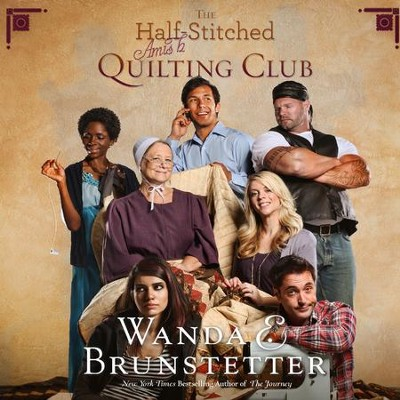 The Half-Stitched Amish Quilting Club - Unabridged Audiobook  [Download] -     By: Wanda E. Brunstetter