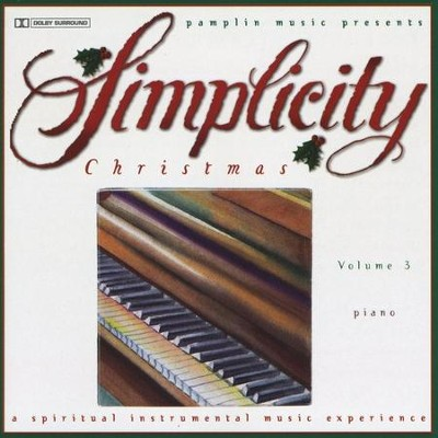 Volume 3 - Piano  [Music Download] -     By: Simplicity Christmas