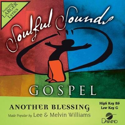 Another Blessing  [Music Download] -     By: Lee Williams, Melvin Williams