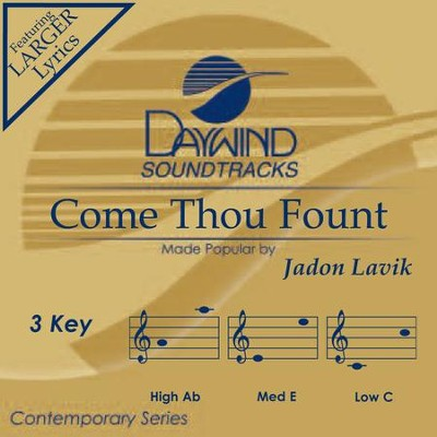 Come Thou Fount  [Music Download] -     By: Jadon Lavik