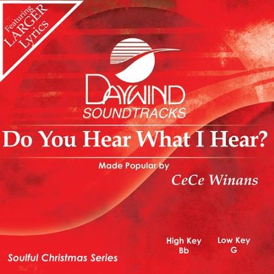 Do You Hear What I Hear  [Music Download] -     By: Cece Winans