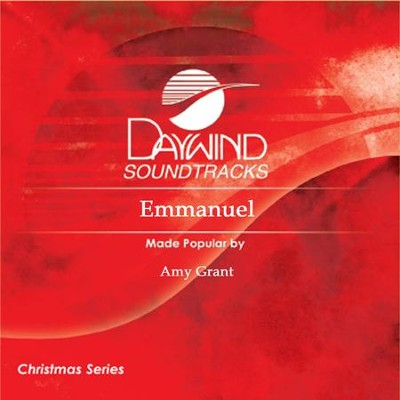 Emmanuel  [Music Download] -     By: Amy Grant