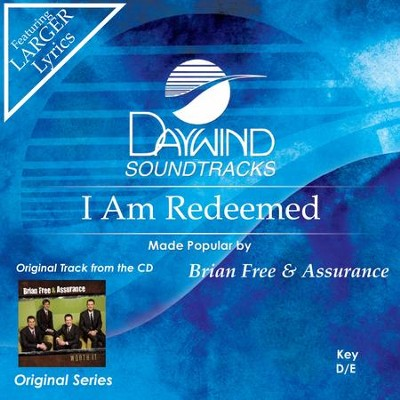 I Am Redeemed  [Music Download] -     By: Brian Free