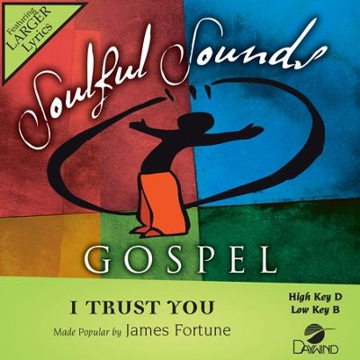 I Trust You  [Music Download] -     By: James Fortune