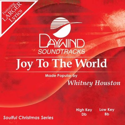 Joy To The World  [Music Download] -     By: Whitney Houston