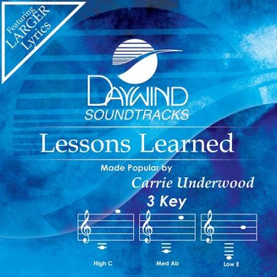 Lessons Learned  [Music Download] -     By: Carrie Underwood