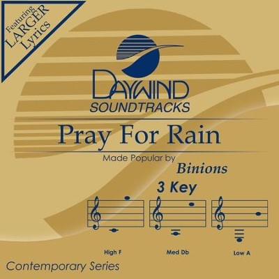 Pray For Rain  [Music Download] -     By: Binions