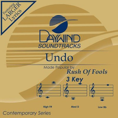 Undo  [Music Download] -     By: Rush of Fools