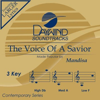 Voice Of A Savior  [Music Download] -     By: Mandisa