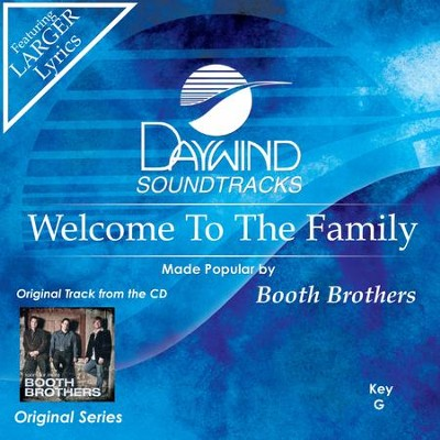 Welcome To The Family  [Music Download] -     By: The Booth Brothers
