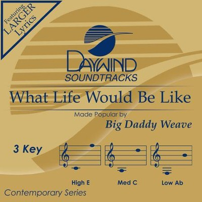 What Life Would Be Like  [Music Download] -     By: Big Daddy Weave