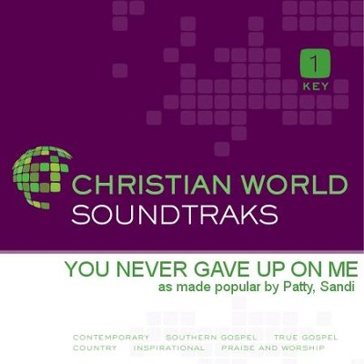 You Never Gave Up On Me  [Music Download] -     By: Sandi Patty