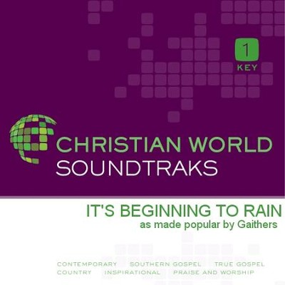 It's Beginning to Rain   [Music Download] -     By: The Gaithers