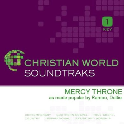 Mercy Throne  [Music Download] -     By: Dottie Rambo