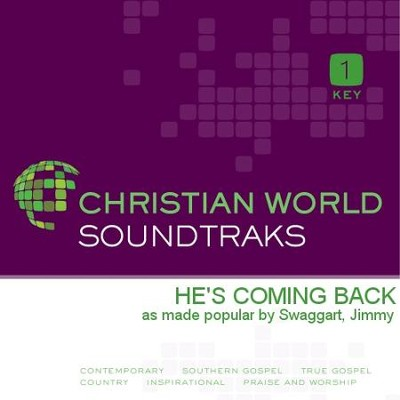 He's Coming Back  [Music Download] -     By: Jimmy Swaggart