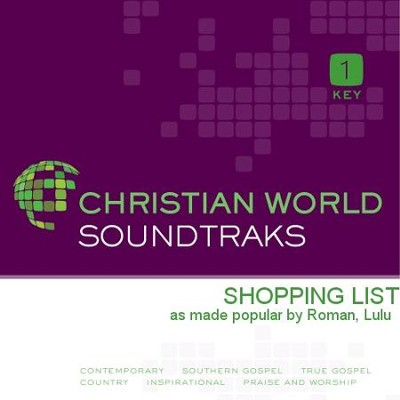 Shopping List  [Music Download] -     By: Lulu Roman