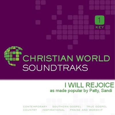 I Will Rejoice  [Music Download] -     By: Sandi Patty