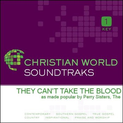 They Can'T Take The Blood  [Music Download] -     By: The Perry Sisters