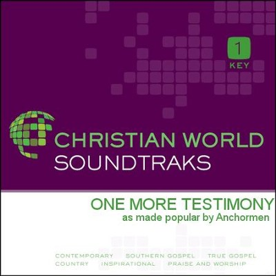 One More Testimony  [Music Download] -     By: The Anchormen
