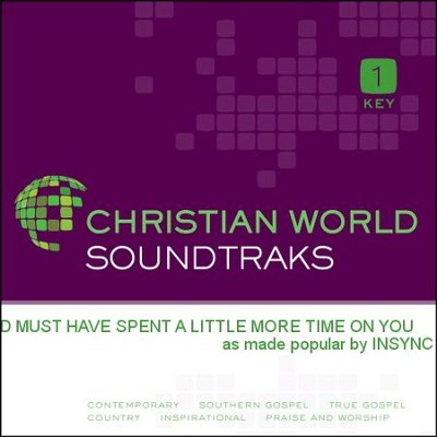 God Must Have Spent A Little More Time On You   [Music Download] -     By: INSYNC