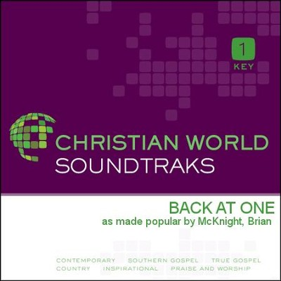 Back At One  [Music Download] -     By: Brian Mcknight