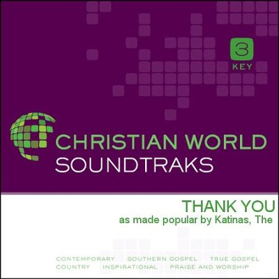 Thank You  [Music Download] -     By: The Katinas