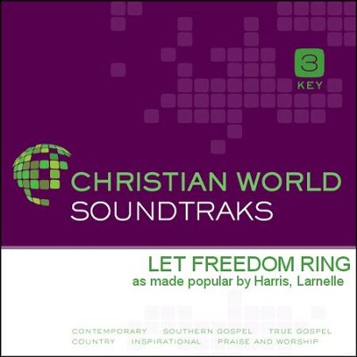 Let Freedom Ring   [Music Download] -     By: Larnelle Harris