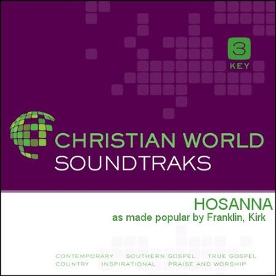 Hosanna   [Music Download] -     By: Kirk Franklin