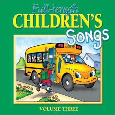 Full-length Children's Songs Vol. 3  [Music Download] -     By: Twin Sisters Productions