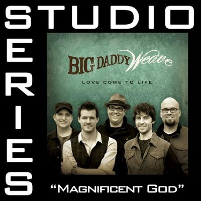 Magnificent God (Medium Key Track without Background Vocals)  [Music Download] -     By: Big Daddy Weave