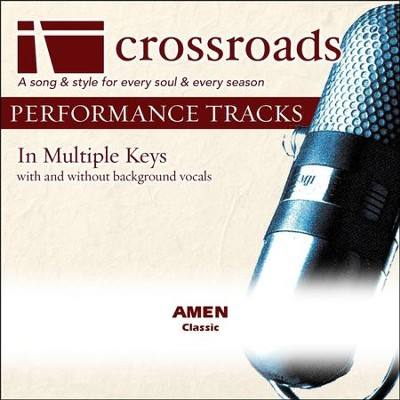 Amen (Performance Track with Background Vocals in Ab)  [Music Download] -