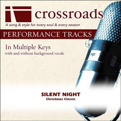 Silent Night (Performance Track)  [Music Download] -