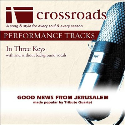 Good News From Jerusalem (Demonstration in C-C#-D)  [Music Download] -