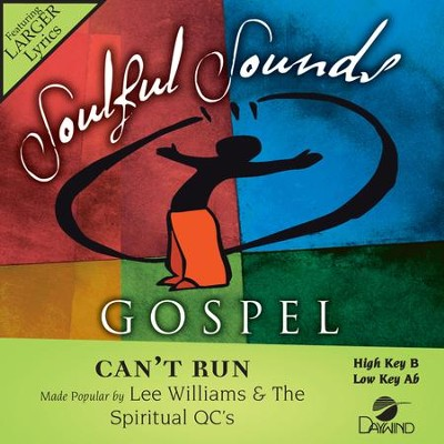 Can't Run  [Music Download] -     By: Lee Williams