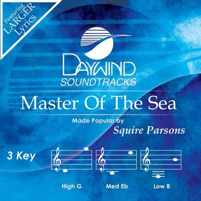 Master Of The Sea  [Music Download] -     By: Squire Parsons
