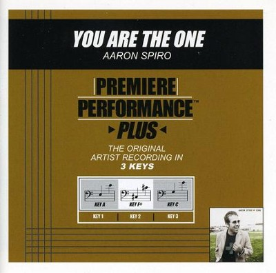 You Are The One (Key-F#-Premiere Performance Plus)  [Music Download] -     By: Aaron Spiro