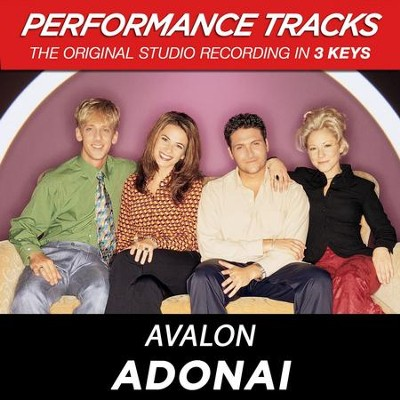 Adonai (Key-B-Db-Premiere Performance Plus)  [Music Download] -     By: Avalon