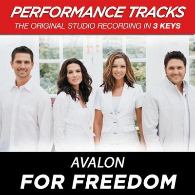 For Freedom (Premiere Performance Plus Track)  [Music Download] -     By: Avalon