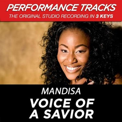 Voice Of A Savior (Medium Key-Premiere Performance Plus w/o Background Vocals)  [Music Download] -     By: Mandisa
