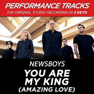 You Are My King (Amazing Love) (Key-A-Premiere Performance Plus w/Background Vocals)  [Music Download] -     By: Newsboys