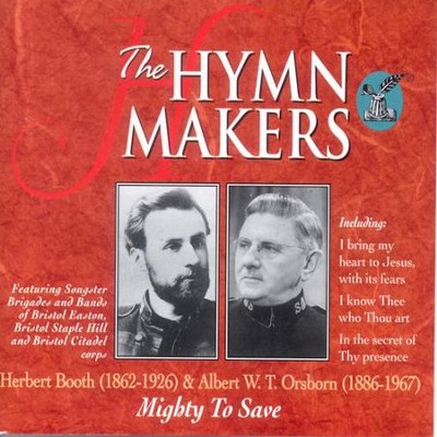The Hymn Makers Mighty To Save  [Music Download] -     By: Various Artists