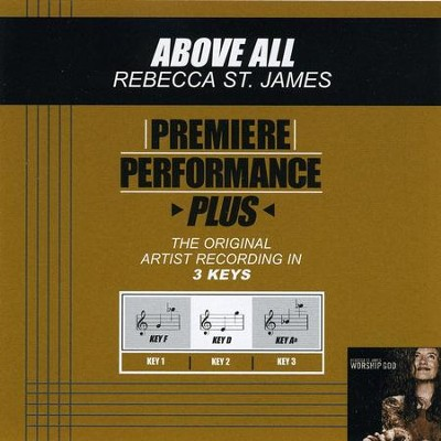 Above All  [Music Download] -     By: Rebecca St. James