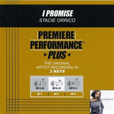 I Promise (Key-A-Bb-Premiere Performance Plus)  [Music Download] -     By: Stacie Orrico
