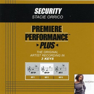 Security  [Music Download] -     By: Stacie Orrico