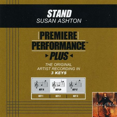 Stand (Premiere Performance Plus Track)  [Music Download] -     By: Susan Ashton