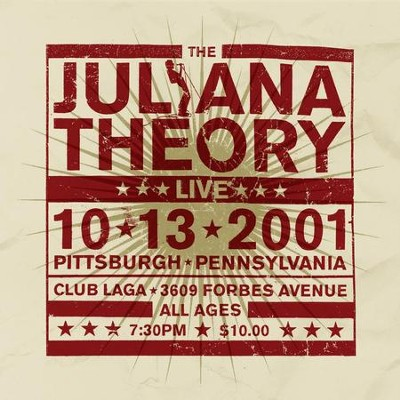 Live 10.13.2001  [Music Download] -     By: The Juliana Theory